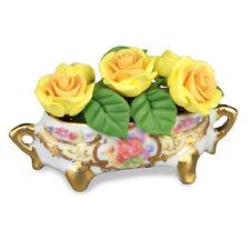 Reutter Porzellan Rosenpokal Rose Flower Arrangement Puppenstube 1:12   1.601/8
