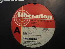 "Bananarama ""Shy Boy"" Smash 80s Hit Oz 7"""