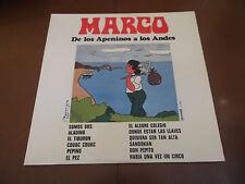 """MARCO """"DE LOS APENINOS A LOS ANDES"""" AÑOS 70 LP DE VINILO"""