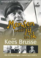 Mensen zoals jij en ik (met o.a. Kees Brusse) : compleet (4 DVD)