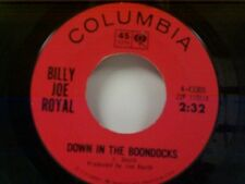 """BILLY JOE ROYAL """"DOWN IN THE BOONDOCKS / OH WHAT A NIGHT"""" 45"""