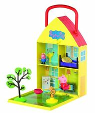 New Peppa Pig Peppa's Home & Garden Playset With Accessories Toy 3+