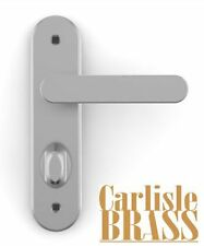 CARLISLE BRASS SEROZZETTA BATHROOM HANDLES IN MATT CHROME - NEW