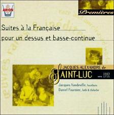 SAINT-LUC: SUITES A LA FRANCAISE POUR UN DESSUS ET BASSE CONTINUE (3325480553950