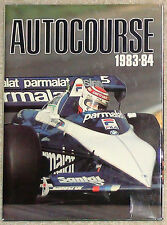 Autocourse 1983-84 F1 Formula One Grand Prix Yearbook - Senna Prost Piquet