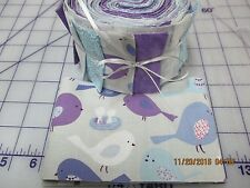 Little Sweet Tweet Together Baby Quilt Kit-Jelly Roll Fabric,Patt.