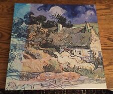 Thatched Cottages at Cordeville (Vincent van Gogh) - Masterpiece Jigsaw Puzzle