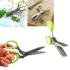 RSVP 5 Blade Herb Snip Garnish Snips Kitchen Shears Scissors Stainless Steel