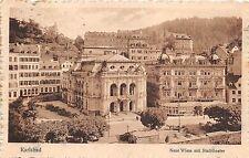 B16185 Czech Republic Karlsbad Neue Wiese mit Stadttheater