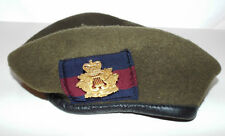 CORPS OF ARMY MUSIC BERET AND BADGE - Size: 58cm , British Army Issue