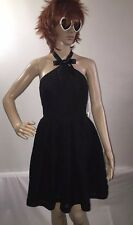 NWT Rodarte Party Dress Black Lace Sexy Gothic Lolita Costume Halloween - Size 7