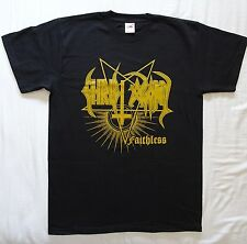 """CHRIST AGONY """"Faithless"""" GOLD LOGO Strictly Limited T-SHIRT OFFICIAL SALE -50%"""