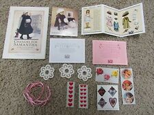 American Girl Samantha Winter Amusements Victorian Valentines French Paper Doll