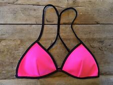 Neon Pink~SMALL~Victoria's Secret SURF TEENY TRIANGLE Bikini Swimsuit Top