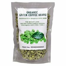 ORGANIC GREEN COFFEE BEANS FOR WEIGHT LOSS 200Gms (GCA/CGA)