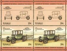 1914 DETROIT Electric Brougham Car 50-Stamp Sheet Auto 100 Leaders of the World