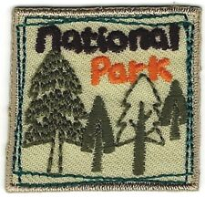 "1 5/8"" Pine Tree Forest Camping Hiking Nature National Park Embroidery Patch"