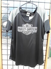 NOS Harley Davidson Ladies 2XL Performance Short Sleeve Shirt 96110-14VW/00L