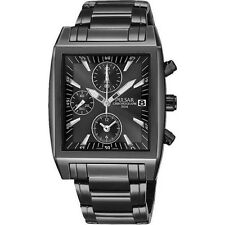 PNP PF8137X1 Pulsar Gents Chronograph Black Ion Plated Watch