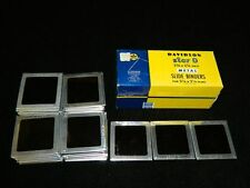 """Lot of 50 Glass Slides 2 3/4"""" X 2 3/4"""" from 1960's or Earlier Family Pictures"""