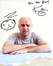 Karl Pilkington - An Idiot Abroad - Signed Autograph REPRINT