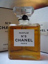 CHANEL No5 PARFUM 28ml BEYOND RARE VINTAGE 1970s SEALED MINT CO BOX WEIGHED FULL