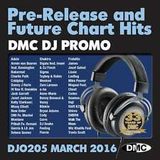 DMC DJ Only 205 Promo Chart Music Disc for DJ's - Double CD