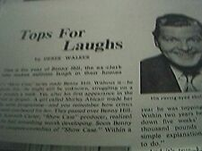 film item 1950 article tops for laughs benny hill