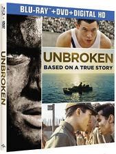 Unbroken - 2 DISC SET (2015, REGION A Blu-ray New)