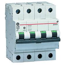 INTERRUTTORE MAGNETOTERMICO 4P 32A 6Ka CURVA C GE POWER 672112