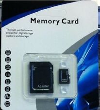 128GB Class 10  Mini Micro SD SDHC  Memory Card with Free Adapter