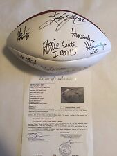 1994 Pro Bowl Autographed Football 18 AUTO'S White,Bettis,Allen,Carter JSA LOA