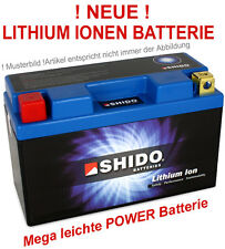 Lithium-ion Batterie shido ytx9-bs moto ion batterie moto 12v ytx9 BS