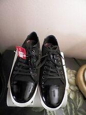 Adam Tucker Fashion Women's Sneaker  BLACK  Size - 7,5 med 100% leather NWOB!