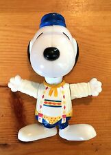 McDonalds Happy Meal Toy Figure Snoopy World Tour Germany 1999