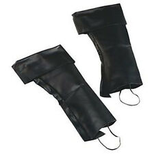Pirate TOP Boot Covers Mens Ladies Caribbean Jack Sparrow Fancy Dress