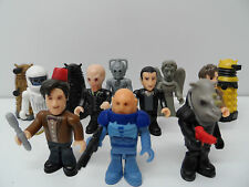 DR WHO MINI FIGURES NEW SERIES FULL SET x12 DOCTOR TOY CHARACTER BUILDING