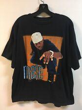 Vintage MASE Shirt Large Rap Tees Bad Boy Diddy Black Tshirt 90s