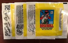 1979 Topps Wax Wrappers Lot - 3 Different