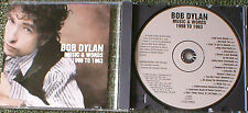 Bob Dylan Music & Words 1998 To 1963 promo CD 16 track retrospective CSK 6229