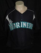 Seattle Mariners Majestic Authentic BP Jersey Men's Large NNOB Ichiro Griffey