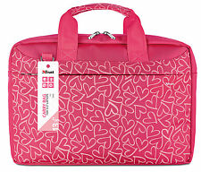 "TRUST 21163, SMART & STYLISH BARI 13.3"" LAPTOP TABLET ULTRABOOK PINK CARRY BAG"