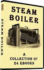 Steam Boiler Construction Furnace Water Heaters Steam Generator How To Books