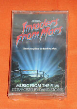 original Tobe Hooper's INVADERS FROM MARS SOUNDTRACK cassette sealed