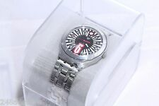 Swiss Made Mens (Unisex) SWATCH `IRONY` Date Watch WITH SOME WARRANTY Ex Display