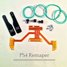 Ps4 Controller reasignación Board v2 remapper modding chip transformación set + Carbon paddles