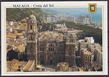 AK Malaga Panorama mit Kathedrale 1995, Cathedral, Gesamtanischt, Costa del Sol