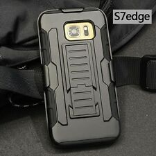 Military Armor Kickstand Belt Clip Holster Cover Case For Samsung Galaxy S7 Edge