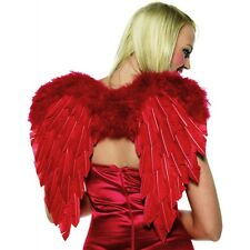 Cupid Costume Accessory Kit Red Wings, Bow & Arrow Valentine's Day Halloween