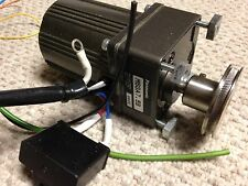 Panasonic M6RA6G4L AC Motor - includes M6GA7.5B gear box and starter cap